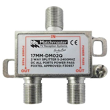 17MM-DM02Q - 2 Way Splitter