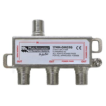 17MM-DM03Q - 3 Way Splitter