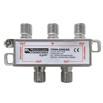17MM-DM04Q - 4 Way Splitter