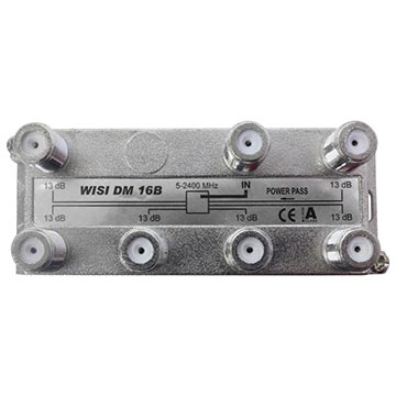17MM-DM16 - 6 Way SAT IF Compatible