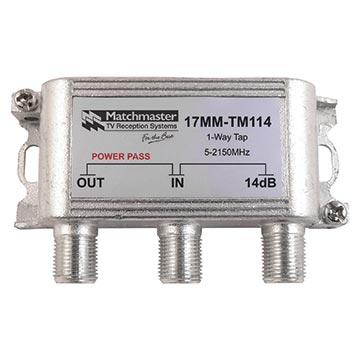 17MM-TM114 - 1 Way Tap 14dB