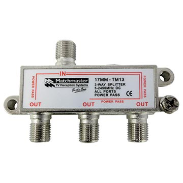 17MM-TM13 - 3 Way Splitter