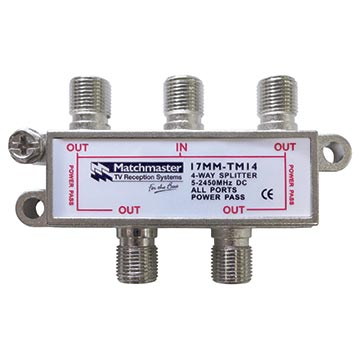 17MM-TM14 - 4 Way Splitter