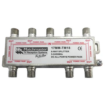 17MM-TM18 - 8 Way Splitter