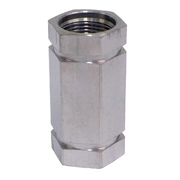 18MM-KSKSC-N6 - KS Splice Coupler - Nitin 6 plating