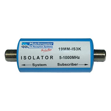 19MM-IS3K - Isolator 3KV CATV