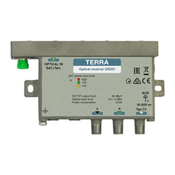20MM-OR301 - Optical RX Dual SAT 1 TERR (Suitable for 20MM-OT301)
