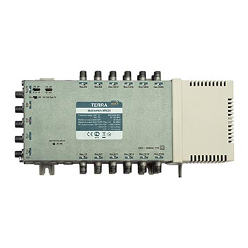 21MM-MR524 - 5 Wire Multiswitch 5 In 24 Out Mains Powered