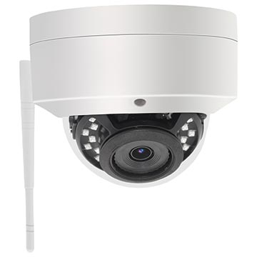 50MM-CD002 - 2MP IK10 Rated HD Dome IP Wi-Fi Camera IP66 3.6mm Fixed Lens
