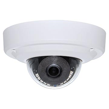 50MM-CD003 - 5MP HD Dome IP PoE Camera IP66 3.6mm Fixed lens IK10 Vandal Rated