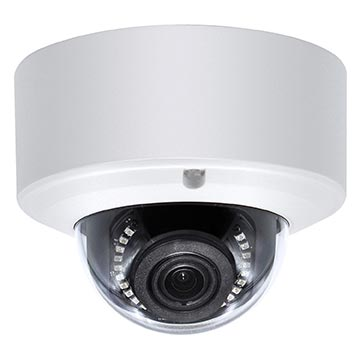 50MM-CD005 - 5MP HD Dome IP PoE Camera IP66 2.8-12mm Varifocal lens IK10 Vandal Rated