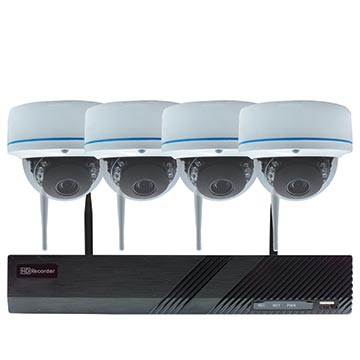 50MM-KD002 - Wi-Fi HD Security NVR Dome Kit