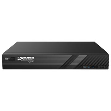 50MM-LN16CH6TB - Professional 4K UHD 16 channel NVR with AUX in/out interface