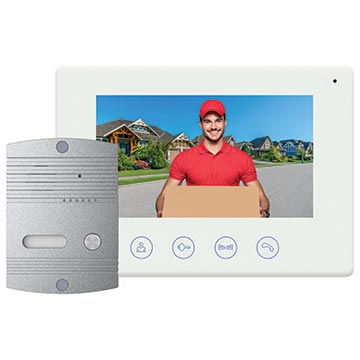 50MM-WD02 - Wi-Fi Video Doorbell with Colour Monitor and Smart Device Access